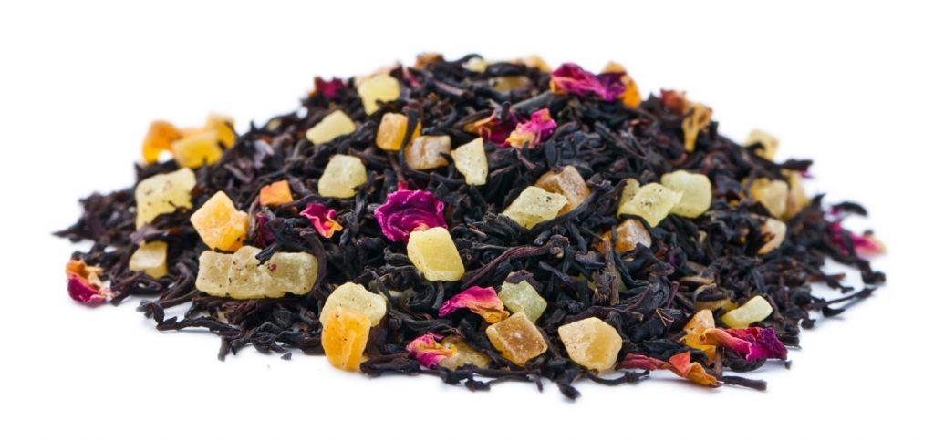 ароматный черный чай